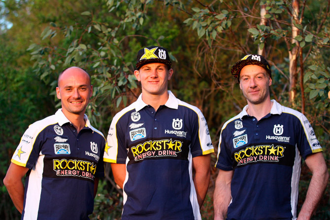 Graham Jarvis Billy Bolt Holzl Husqvarna Factory Racing Extreme Enduro Team