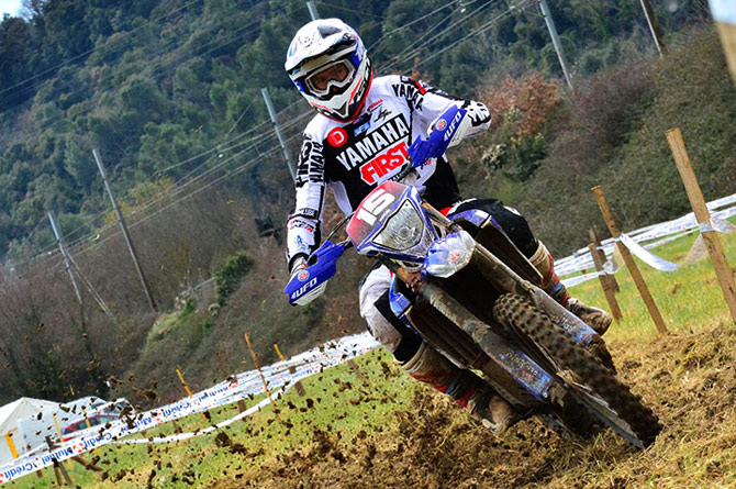 Loic Larrieu second au scratch de la coupe de France d'enduro 2016