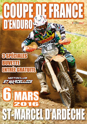 coupe france enduro 2016 affiche