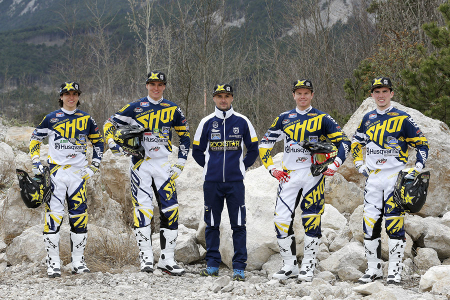 Team husqvarna enduro 2016