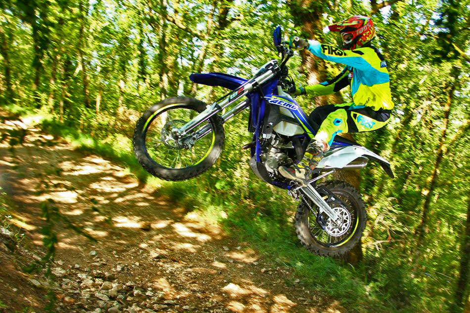 photo action sherco 450 2017