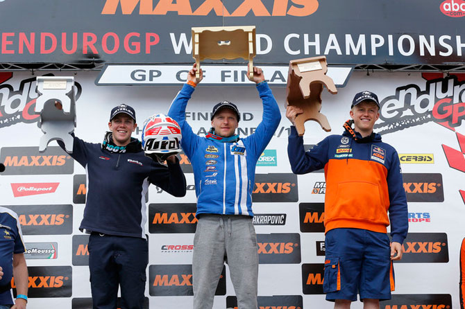 podium enduro gp finlande