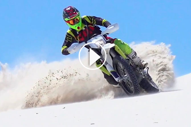 video essais  moto husqvarna 701 enduro
