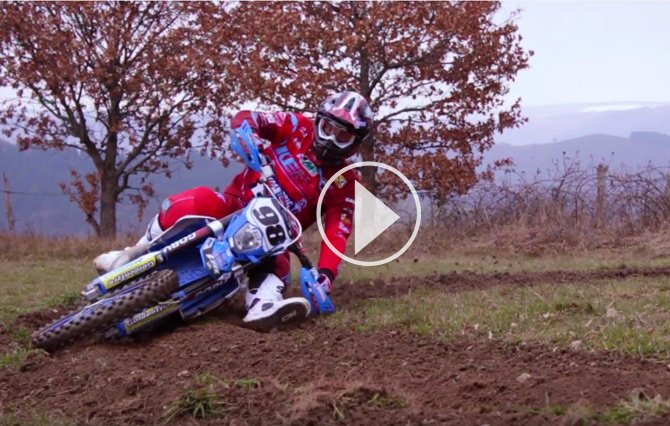 vidéo enduro avec le  Team TM Racing Xcentric officiel 2016