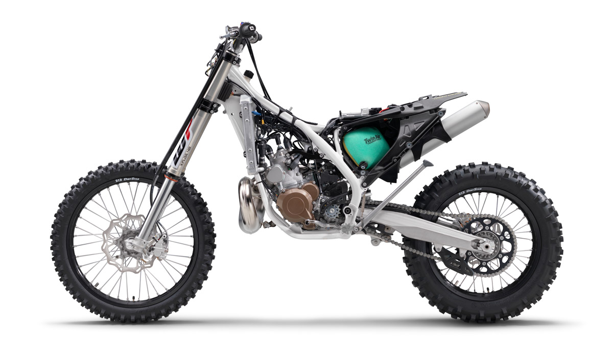 Husqvarna 250 TE injection 2018