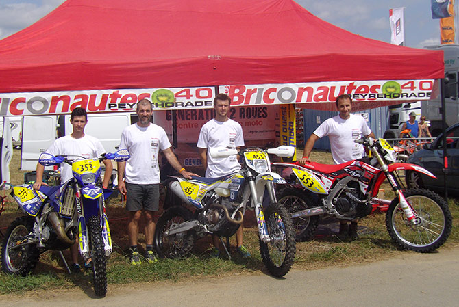 ISDE team generation 2 Roues