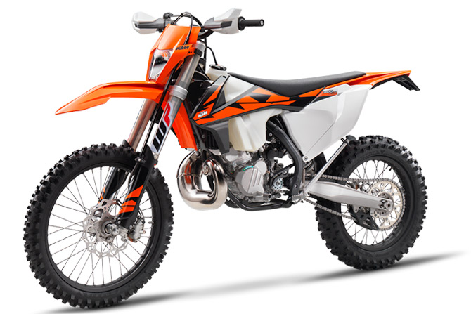 Moto KTM enduro 2018 injection TPI 300