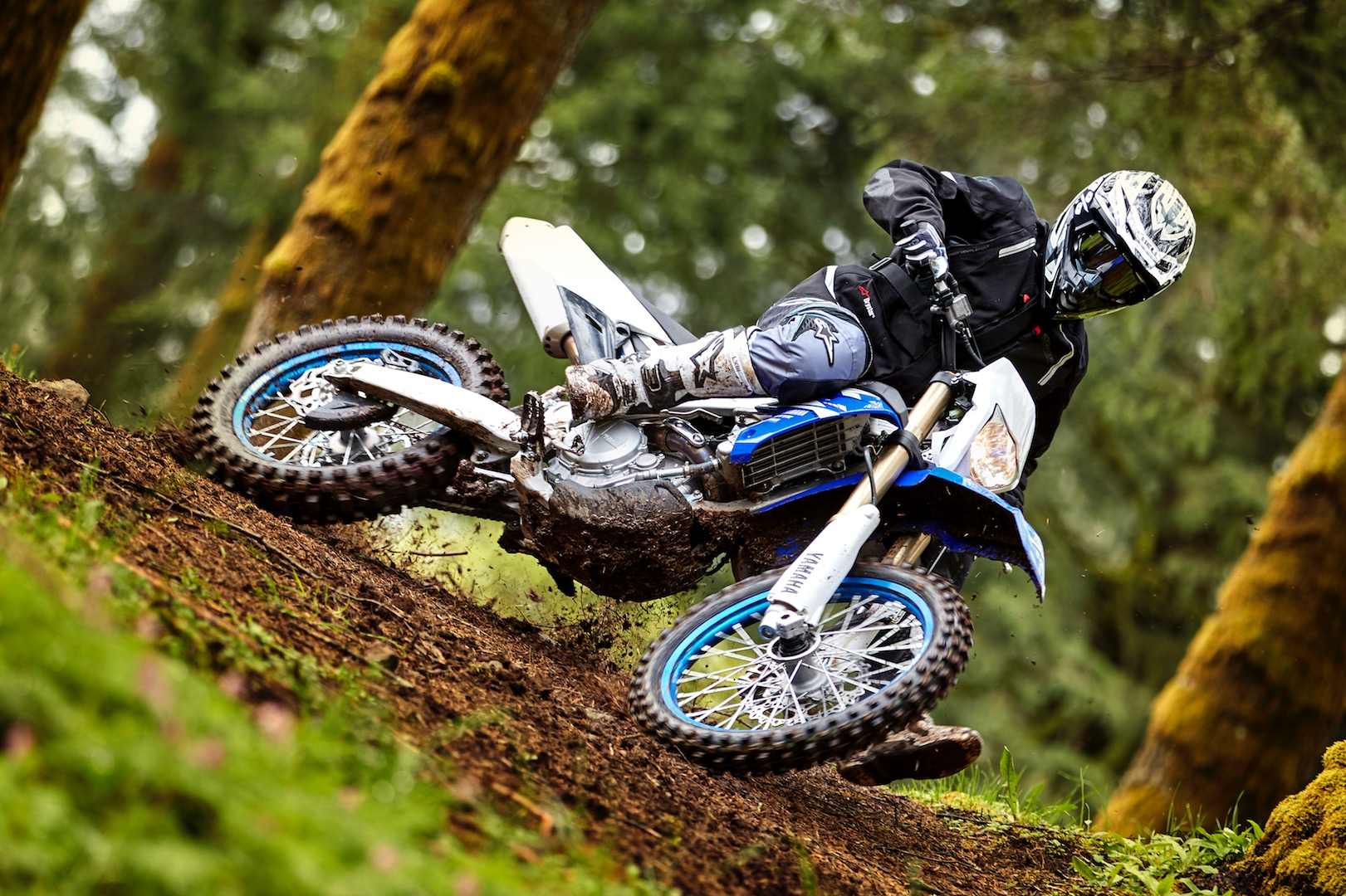 Photo Yamaha WR450F enduro moto 2018