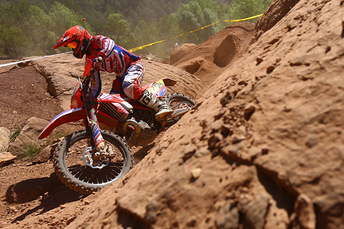 anthony Geslin enduro France Leluc