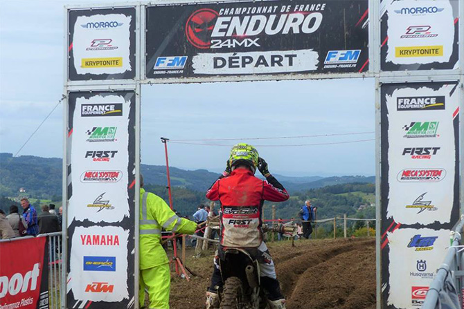 challenge EVO SET 2018 enduro france