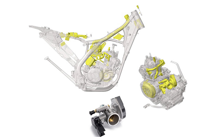injection TE300 husqvarna
