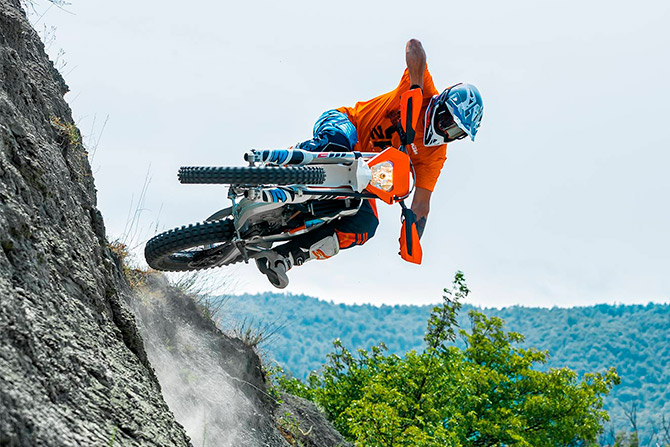 ktm freeride E xc 2018 action enduro