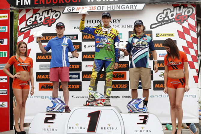 podium youth cup 125 hongrie j2