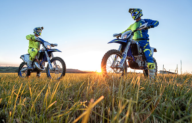 sherco 2018 action