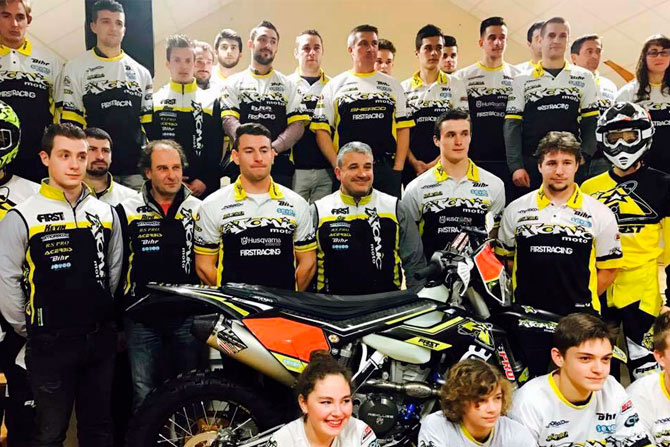Le team Atomic moto 2017