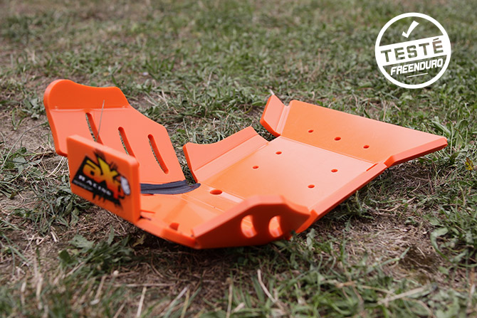 test sabot AXP xtrem ktm orange