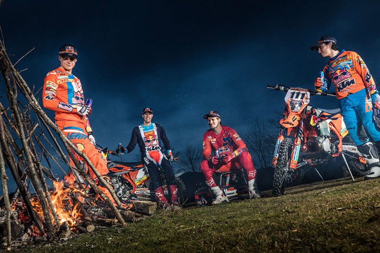 KTM Enduro Team Shooting 2018