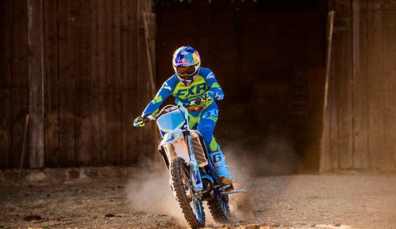 cody webb sherco 2020 action