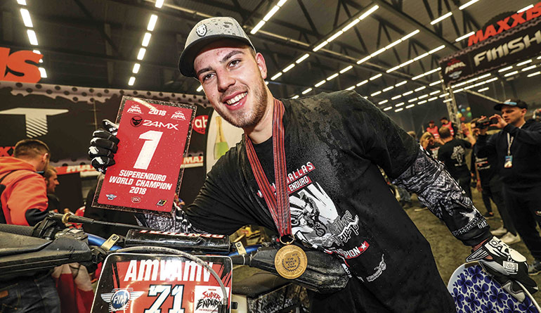 kevin gallas champion super enduro 2018