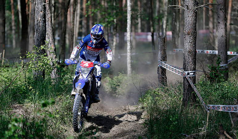 loic larrieu enduroGp estonie J2