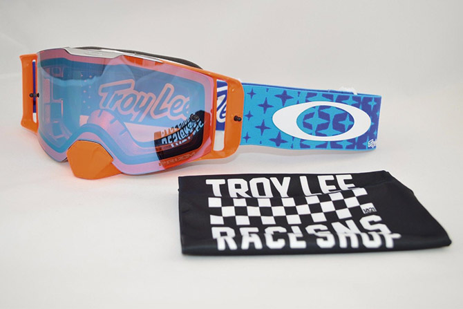 masque oakley orange troy lee design