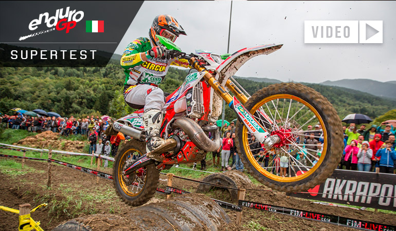 matteo cavallo enduroGP super test Italie