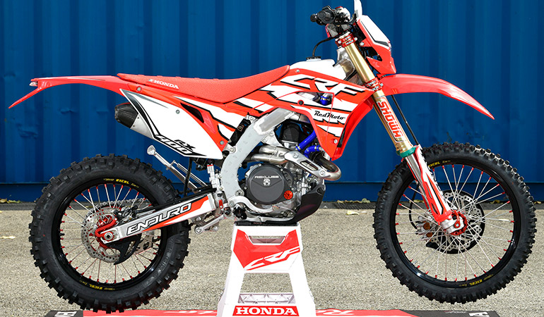 photo moto Honda CRF 400RX 2019