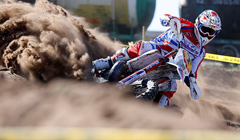 steve holcombe enduroGp estonie J2