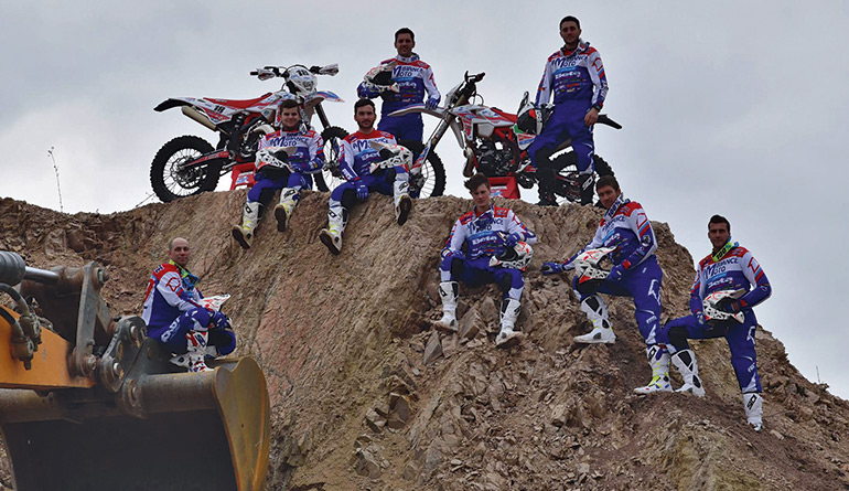 team ambiance moto beta 2018 enduro