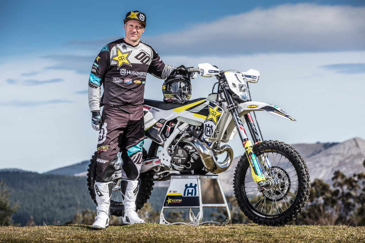 Husqvarna Factory Racing enduro 18 5