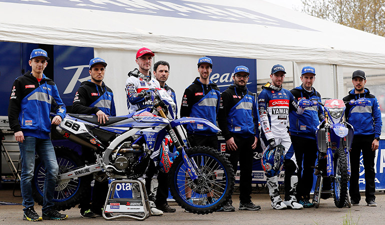 team yamaha ousiders 2018