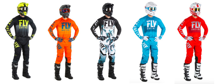 tenues moto enduro fly racing 2018