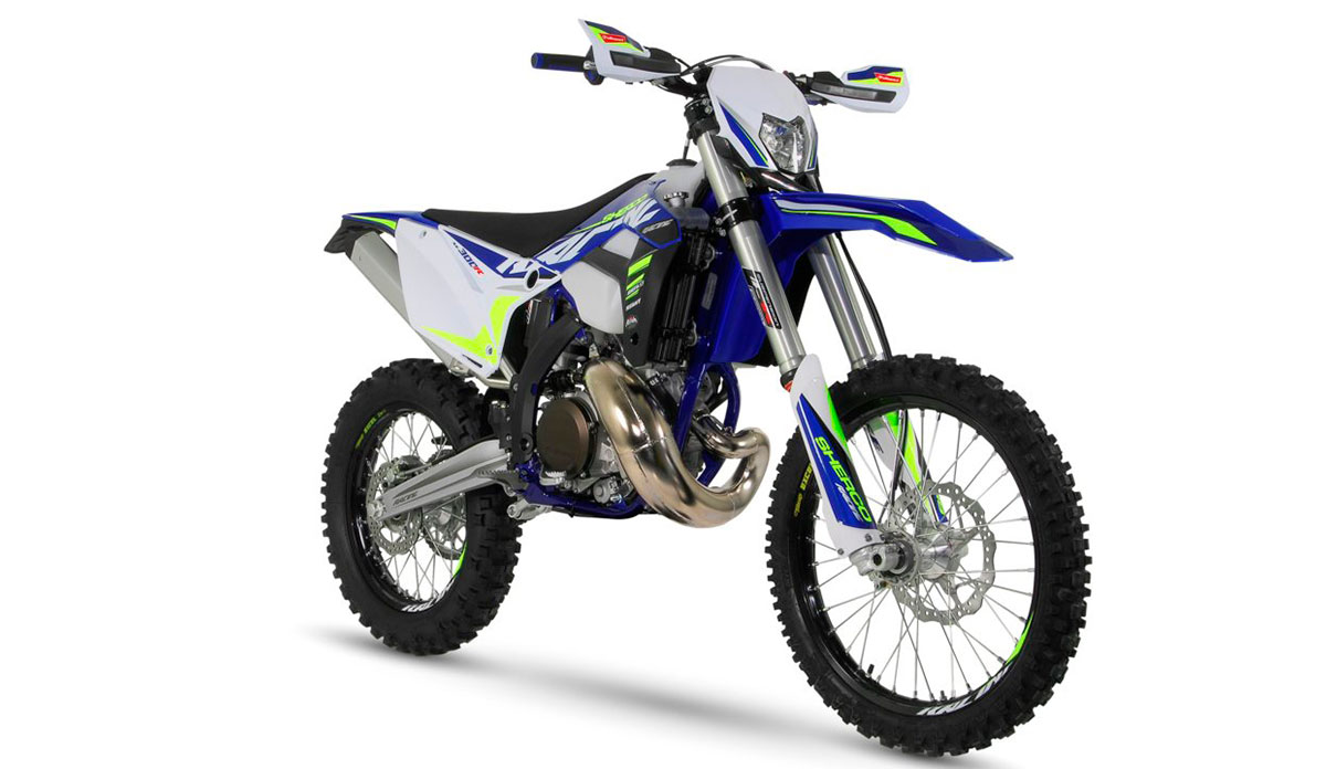 Sherco 300 2t enduro 2020 racing