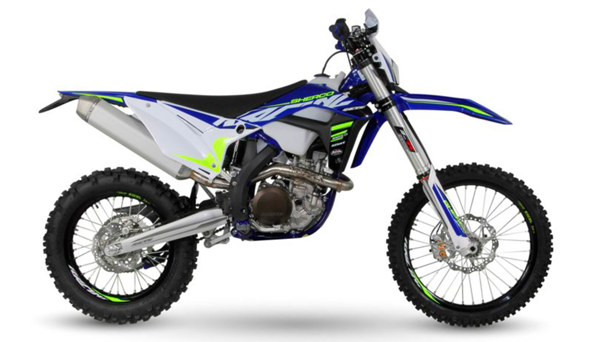 Sherco 300 SEF enduro 2020 racing