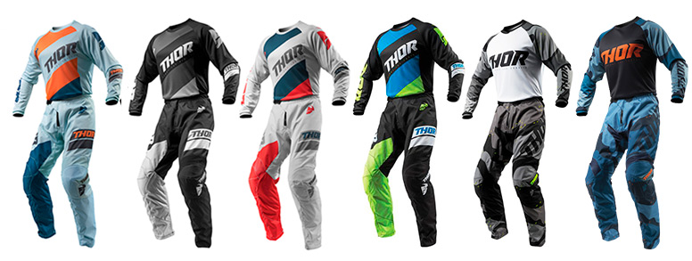 Tenue motoCross THOR freenduro