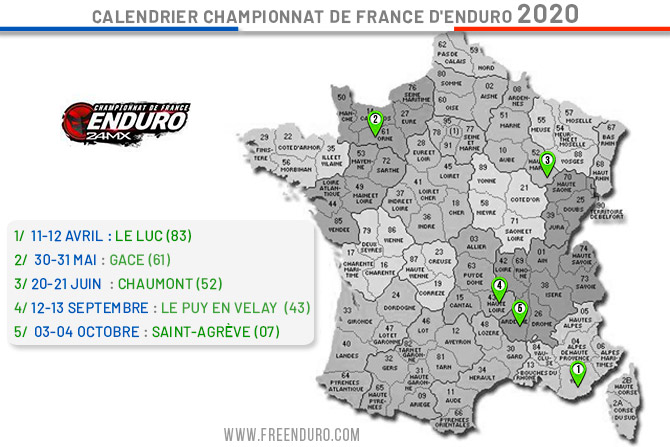 enduro France Saint Agreve 2020