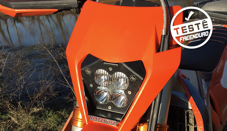 essai KIT oxi light ktm EXC 2017