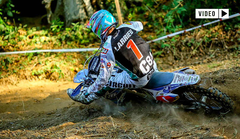 Loic Larrieu Enduro France Merzer 2019 J2