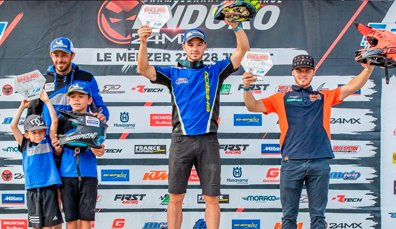 podium E1 enduro france Merzer 2019 J1