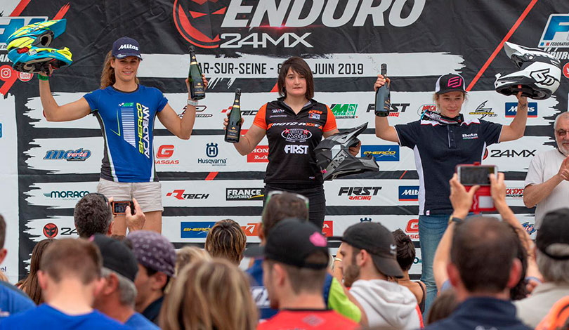 podium feminines enduro france bar sein J2