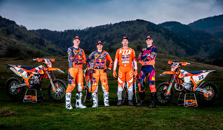team ktm enduro racing 2019