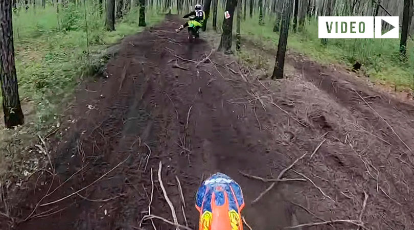 video gorpo GNCC USA Kailub Russel