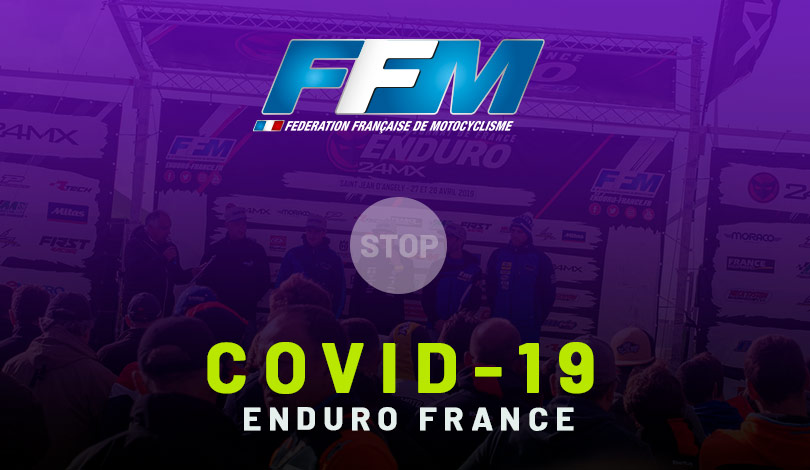 point infos Covid-19 enduro France 2020