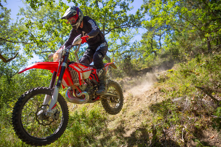 essai beta enduro 200RR 4