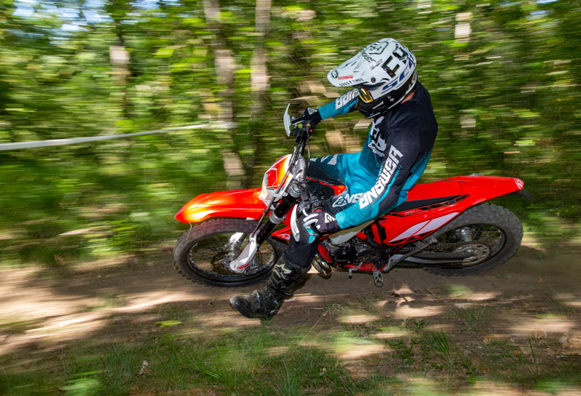 essai beta enduro 200RR 5