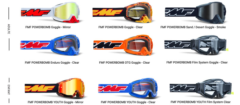 Masques FMF vision Powerbomb