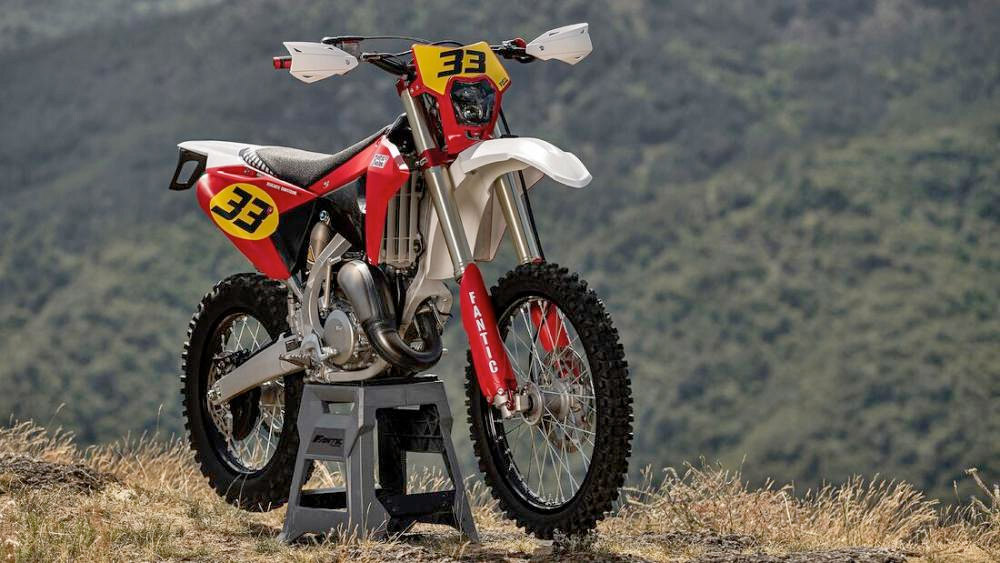 fantic 125 XE 40 anniversery ISDE 2021