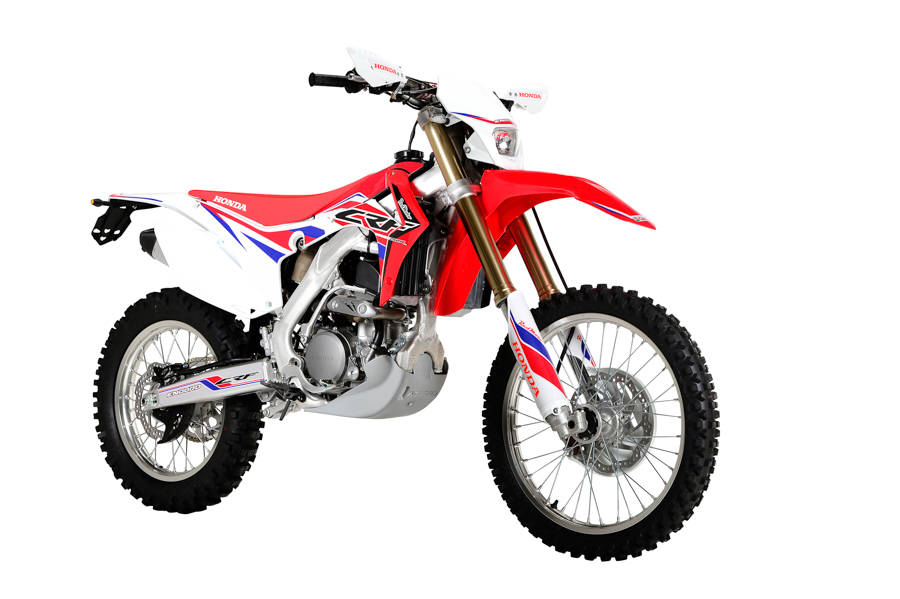 photo moto Honda CRF   250 R enduro 2016