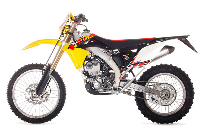 photo moto Suzuki RMZ 250 Enduro