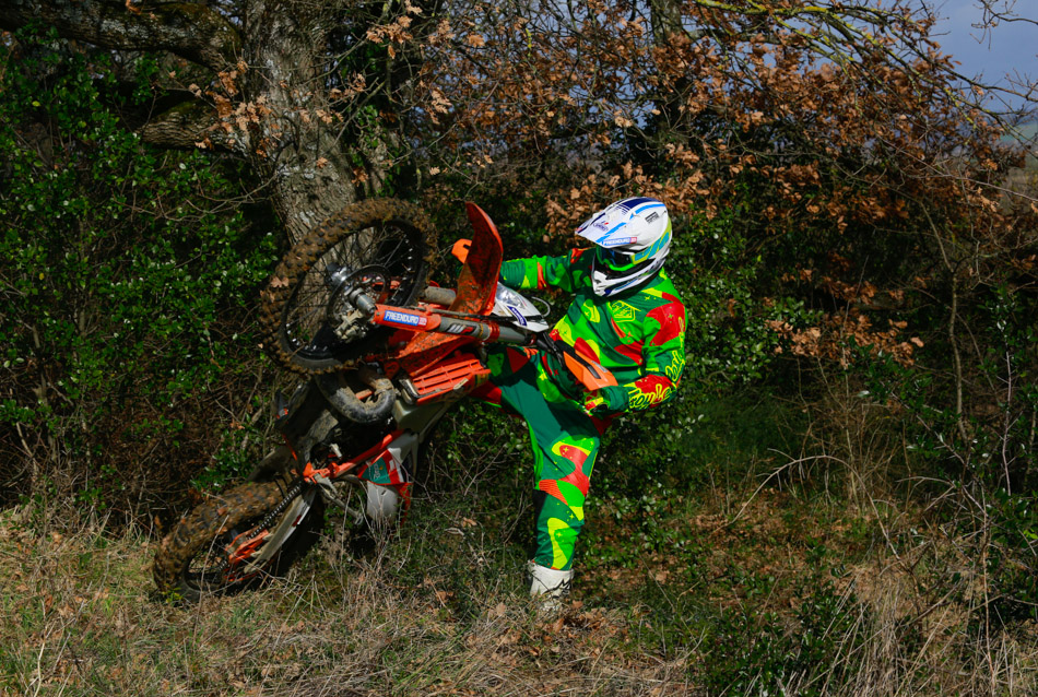 Troy Lee Desings Cosmo Camo Green yellow enduro 4133